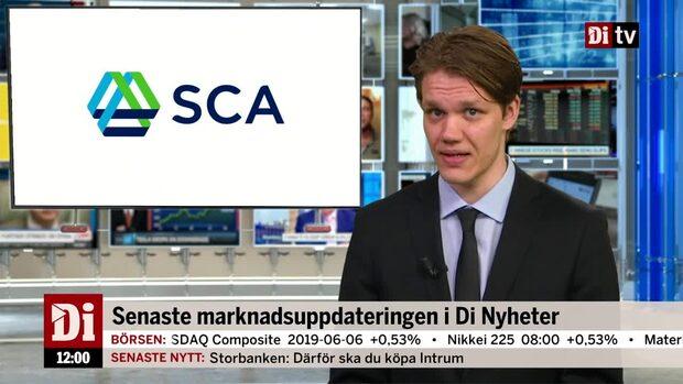 Di Nyheter: Klargrön Stockholmsbörs – SCA på efterkälken