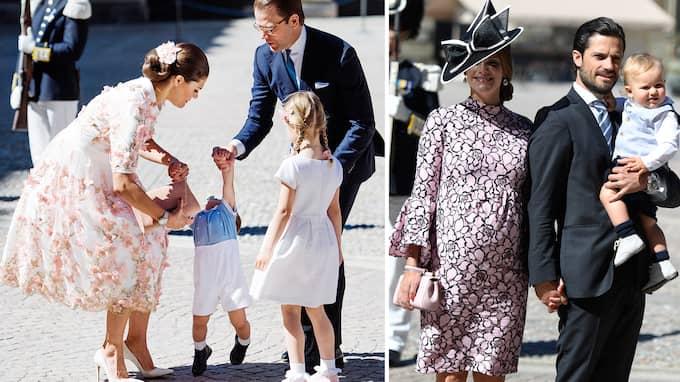 Prinsessornas väljer främst svenska modeskapare. Foto: Montage