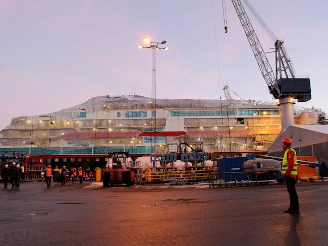Fartygen byggs på Kelven Verft i Ulsteinvik i Norge.