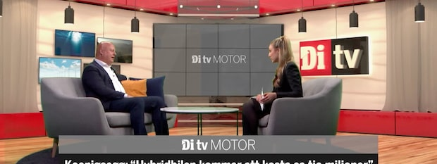 Se hela intervjun med Christian von Koenigsegg