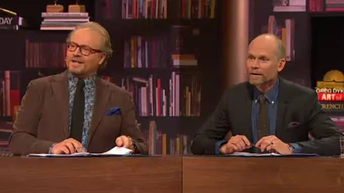 Fredrik Lindström och Kristian Luuk. Foto: SVT