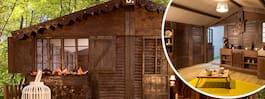 Nu kan du bo i en stuga gjord av 1,5 ton choklad