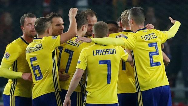 Sverige avancerar till slutsel i Nations Leauge