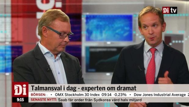 """von Sydow: """"Kortsiktigt varit positivt för börsen"""""""