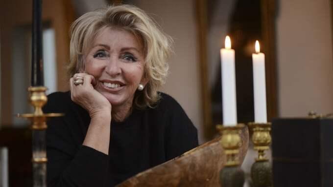 Som 64-åring fick Karin Laserow en ny karriär som tv-personlighet. Foto: CHRISTER WAHLGREN