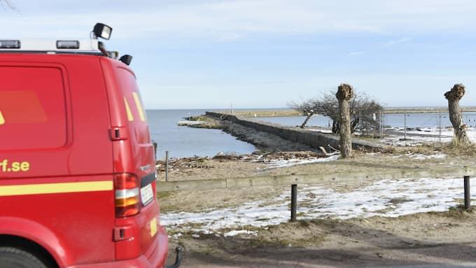 Bedömningen som gjordes var att kroppen legat i vattnet ett tag, säger Anders Kindberg, inre befäl vid räddningstjänsten Syd. Foto: Anders Grönlund