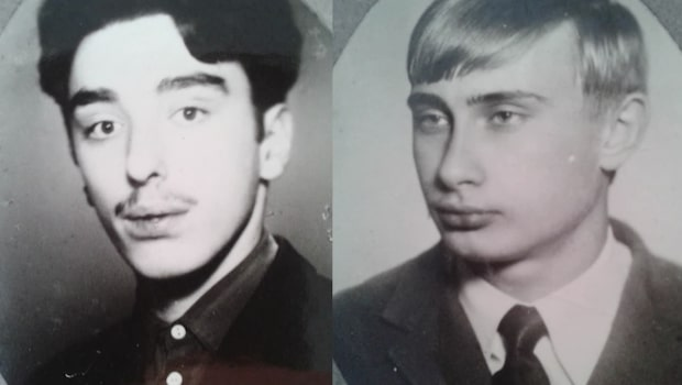Barndomsvännen besviken på Putin