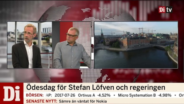 Robert Bergqvist om den pågående regeringskrisen