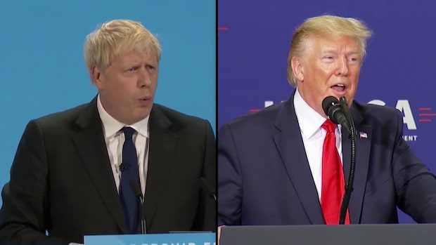 "Boris Johnson sägs vara en ""brittisk Donald Trump"""