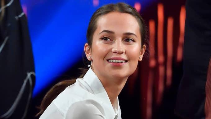 Alicia Vikander. Foto: KARIN TÖRNBLOM / IBL BILDBYRÅ / IBL BILDBYRÅ