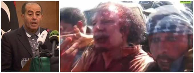 Enligt NTC:s Jibril dödades Khadaffi i korseld - men en källa hävdar att det gick till på annat sätt.