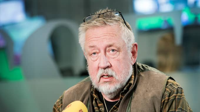 Professorn Leif GW Persson. Foto: OLLE SPORRONG