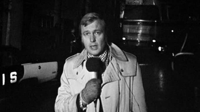 Bo Holmströms klassiska klipp från Norrmalmstorgsdramat 1973.