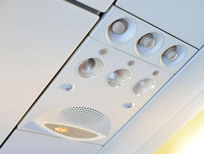 Luftsystemet och luftventilen tar dock upp drygt 99 procent av partiklarna.
