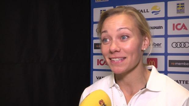 """Hansdotter har siktet inställt på OS-medalj: """"Litar på min rutin"""""""