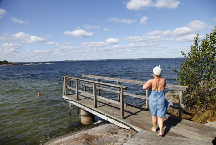 Lundgren valde badet framfor talet
