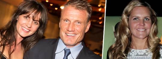 Dolph Lundgren och flickvännen Jenny Sandersson har spenderat två veckor tillsammans med hans exfru Anette Qviberg i Marbella.