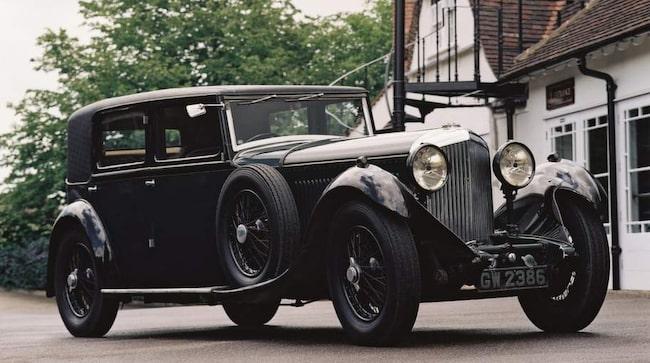 8-liters Bentley Limousine från 1930.