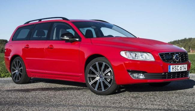 Volvo V70 T4 Classic blir 1 080 kronor dyrare per år om du kör 3 000 mil.