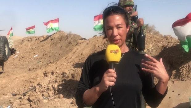"""Karin Olsson: """"Magda är beredd att dö för journalistiken"""""""