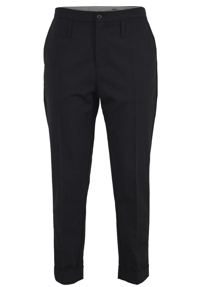 Klassik kostymbyxa från HOPE i en ledig modell med något avsmalnande ben.  Snedställda fickor i sidorna och lägre placerade hällor i midjan. 404fc0bde3150
