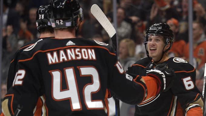 Anaheim besegrade Vancouver med 4-1. Foto: USA TODAY NETWORK / USA TODAY SPORTS/SIPA USA/IBL SIPA USA