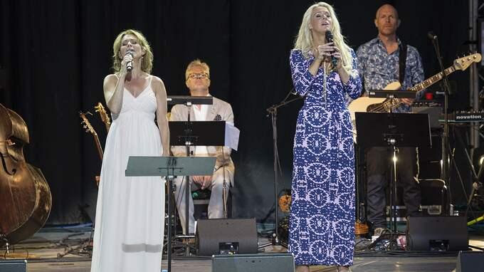 Helen Sjöholm och Malena Ernman har båda fått Expressens musikpris Spelmannen. Nu står de på scen ihop. Foto: ELENA MASTYNSKAJA / COPYRIGHT ELENA MASTYNSKAYA