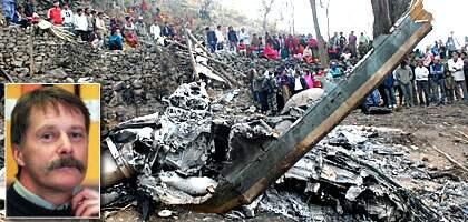 Svenske FN-observatör Mats Norhult, 54, befaras ha omkommit i Nepal. Foto: ÖRJAN SÖDERLUND/NWT och AFP