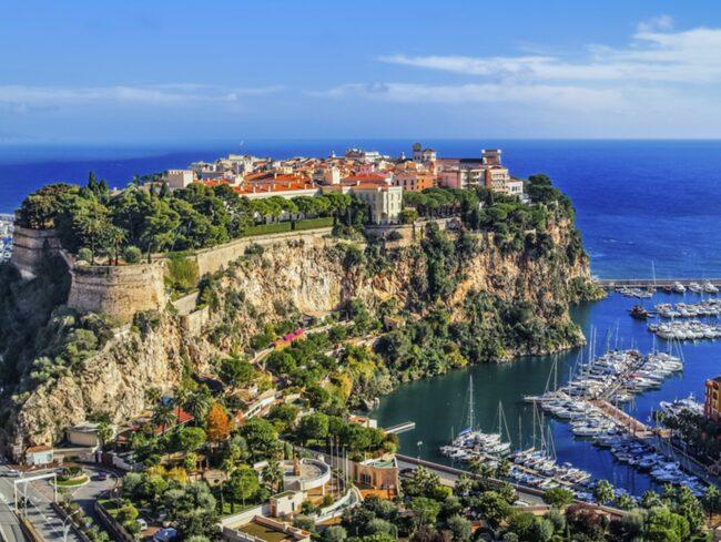 <span>Till Monte Carlo längs Cote d'Azur finns cab-vänliga vägar.</span>
