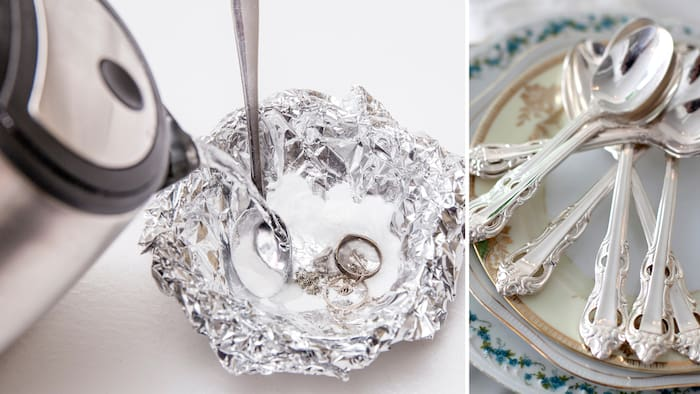 rengöra silver husmorstips