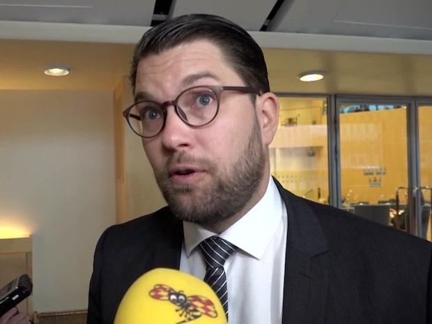 """Jimmie Åkesson: """"Jag verkar för ett misstroende varje dag"""""""
