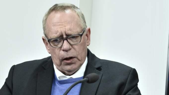Anders Bergström avgick som kassör från Kommunal. Foto: Claudio Bresciani/Tt