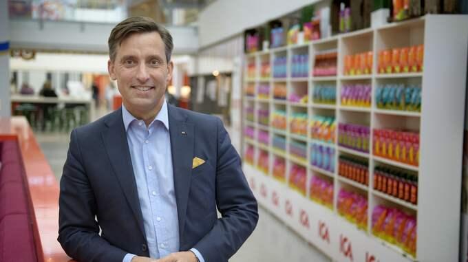 Mats Liedholm, marknadsdirektör på Ica Sverige. Foto: / TT NYHETSBYRÅN