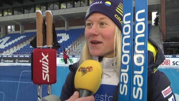"Maja Dahlqvist om pengasuccén: ""Jävligt gött"""
