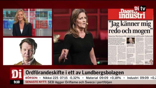 Ordförandeskifte i ett av Lundbergsbolagen