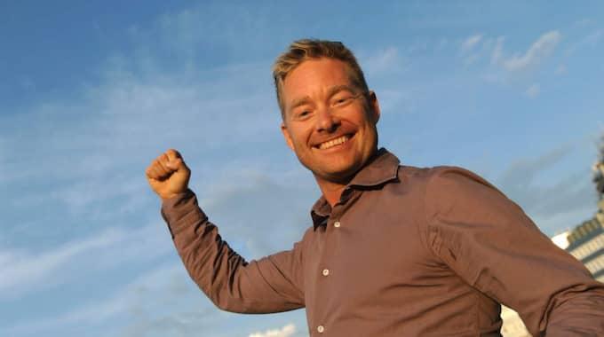 Marcus Lindgren laddar för travfester på hemmaplan den här veckan. Foto: Maria Holmén/Kanal 75