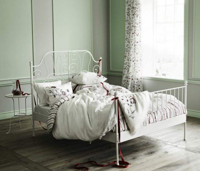 Ikea bäddar med romantik och spetsar Leva& bo Expressen Leva& bo