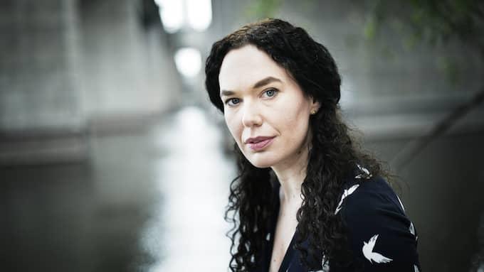Therese Bohman, konstkritiker i Expressen och författare. Foto: THEO ELIAS LUNDGREN