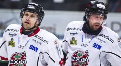 Markus Näslund slutar efter Röglematchen på lördag - och Peter Forsberg har troligen redan gjort sin sista match. Foto: Nils Petter Nilsson