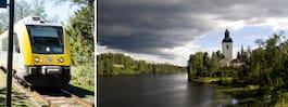 Här är Sveriges 12 vackraste tågresor