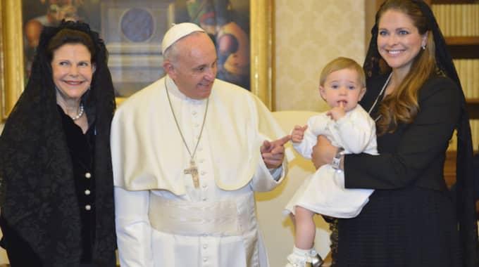 Påven bryr sig även om de starka. Foto: Henrik Montgomery / TT NYHETSBYRÅN