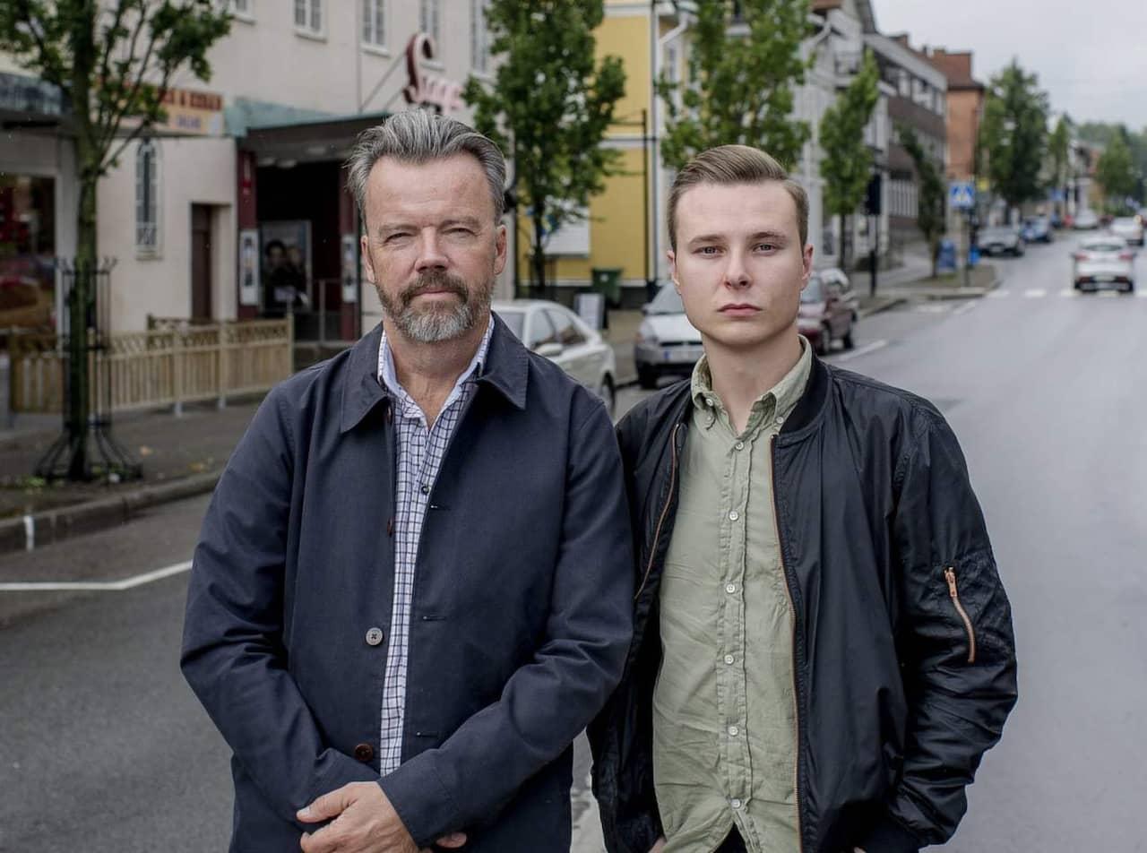 Lars Lindström och Alex Ljungdahl