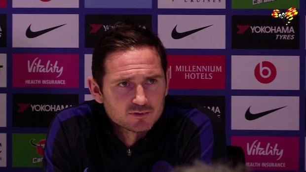 """Frank Lampard: """"Vi spelade väldigt bra"""""""
