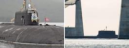Rysk atomubåt till  Östersjön i sommar