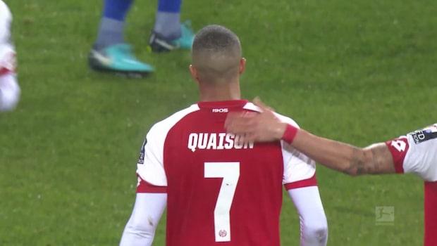 Quaison nära klassmål när Mainz föll mot Schalke