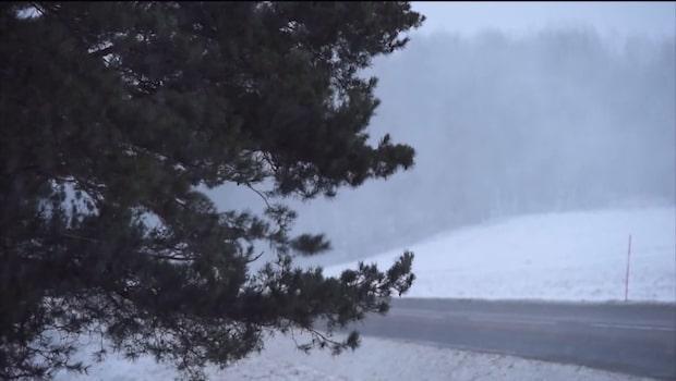 Nytt snöoväder väntas dra in över Sverige