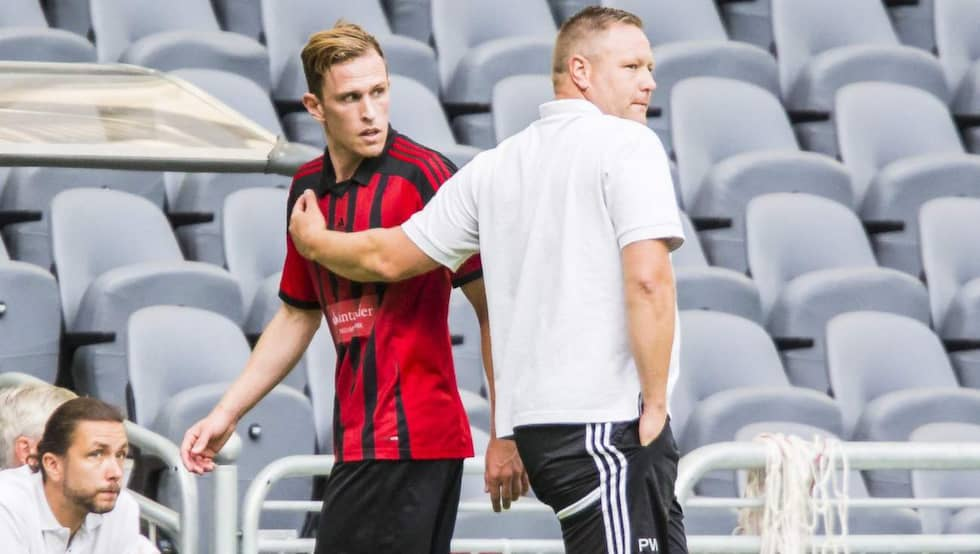 Den 31 juli var Segerström med och spelade Europa League-kval mot Torino. Foto: Kenta Jönsson