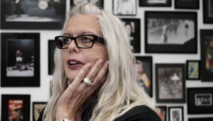 Marianne Lindberg De Geer, konstnär och avgående chef för Konst och design på Kulturhuset Statsteatern i Stockholm. Foto: Anna-Karin Nilsson