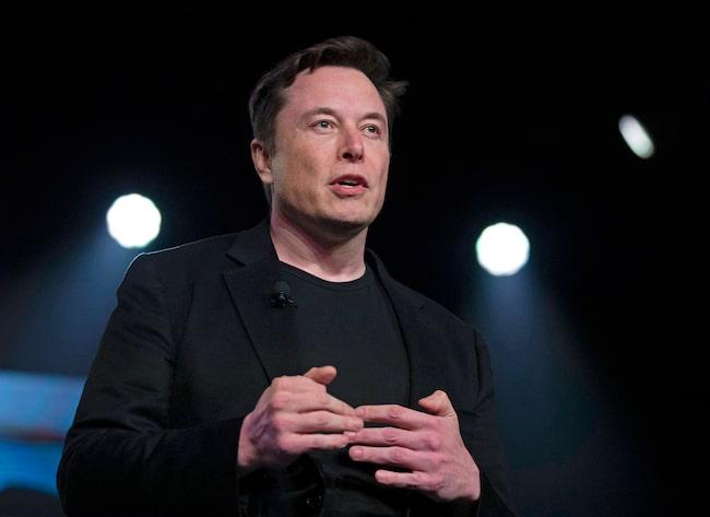 Teslas grundare Elon Musk.