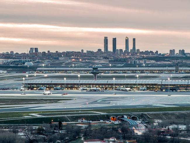 Säkerhetspersonalen på Madrid Barajas flygplats är i konflikt med arbetsgivaren  Ilunion.